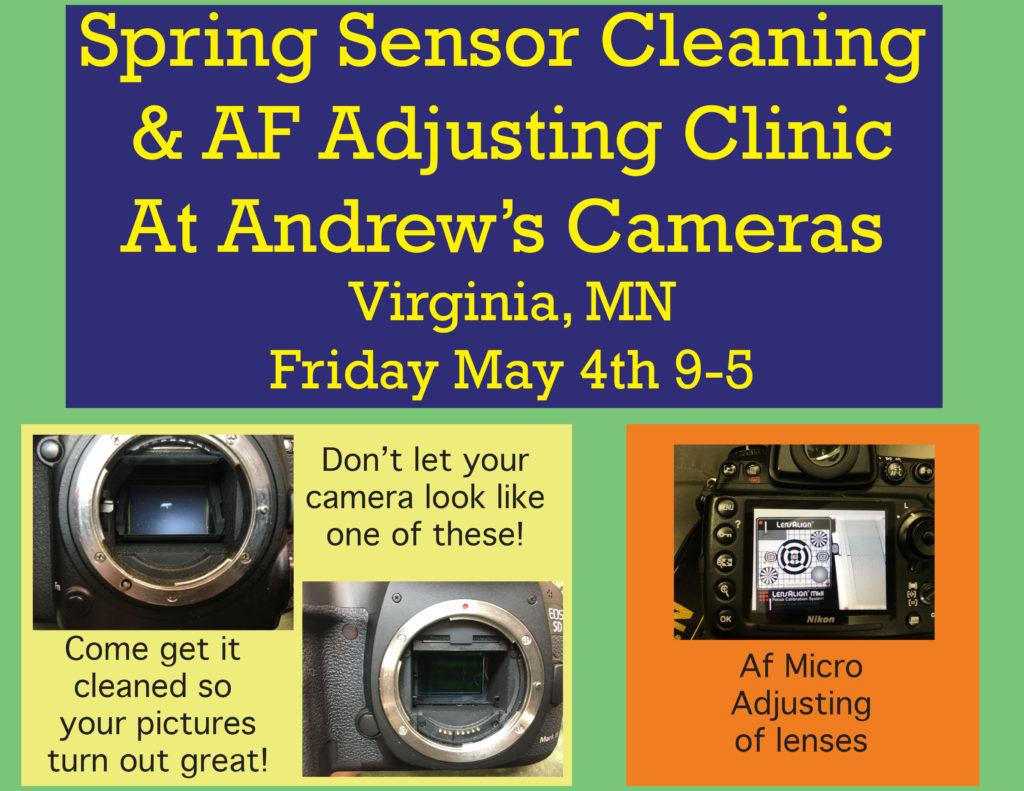 Sensor Cleaning May 4